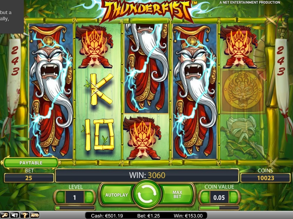 Thunderfist Big Win