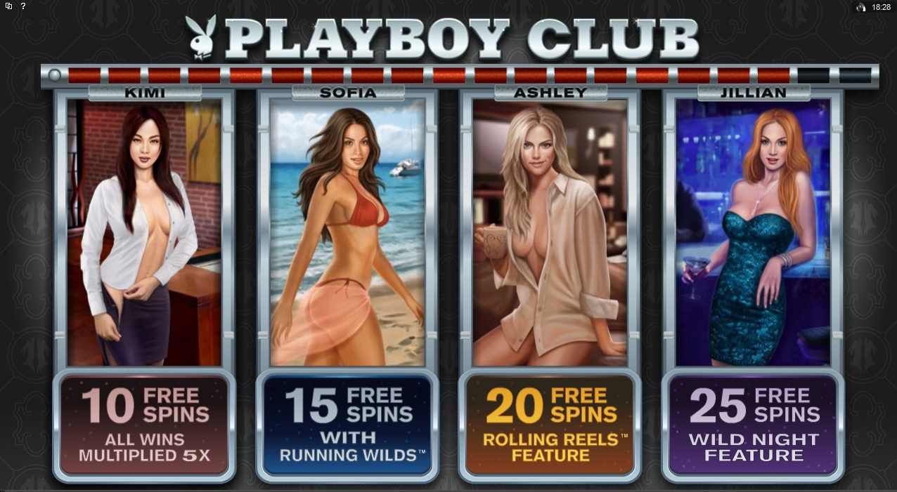 Playboy slot, now at selected NetEnt casinos