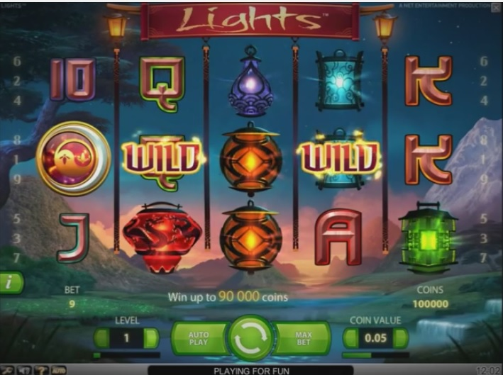 Coming in May, Lights slot game by NetEnt