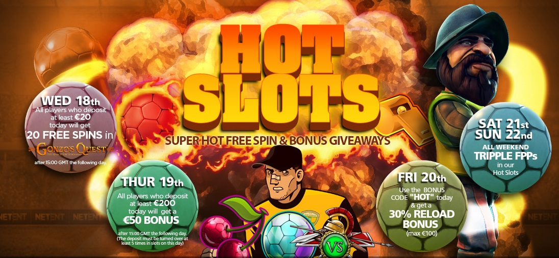 NextCasino, Hot Slots promotion