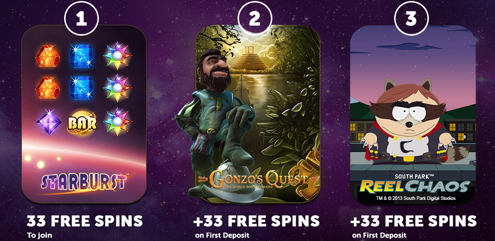 NetEnt now at SlotsMagic and 33 free spins, no deposit