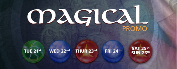 Magical promotional week at CasinoLuck