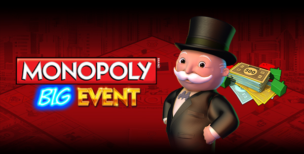Monopoly Big Event now live at selected casinos