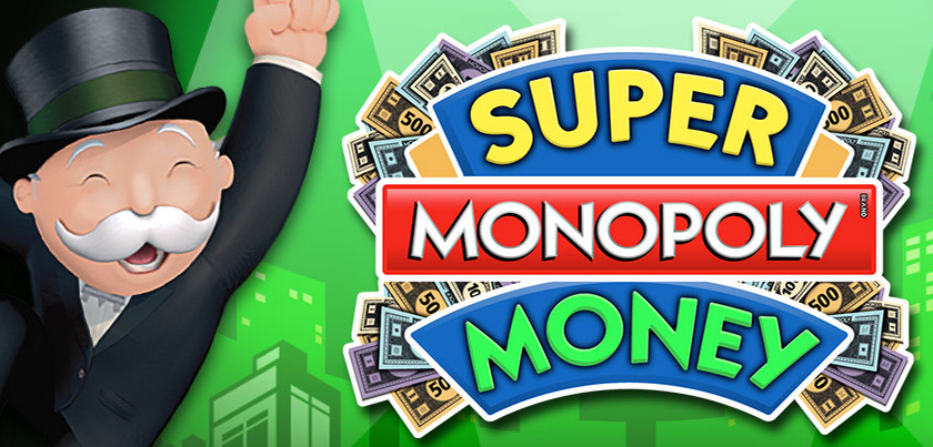 Now online, Super Monopoly Money slot game