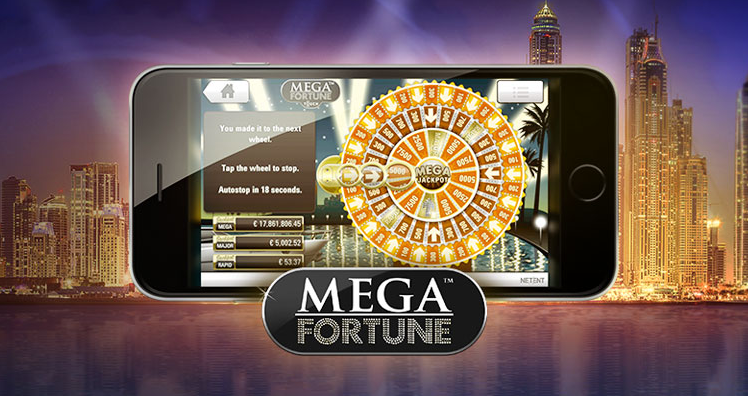 The return of Mega Fortune, cash giveaway at Betsson