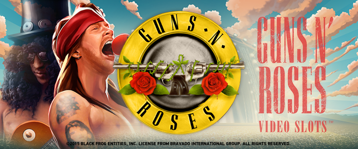 Guns n' Roses casino game now at Casumo