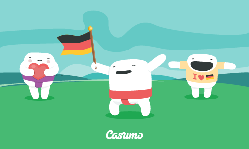German players now welcome at Casumo