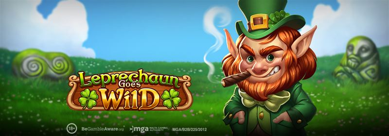 Leprechaun Goes Wild, new high volatile slot game