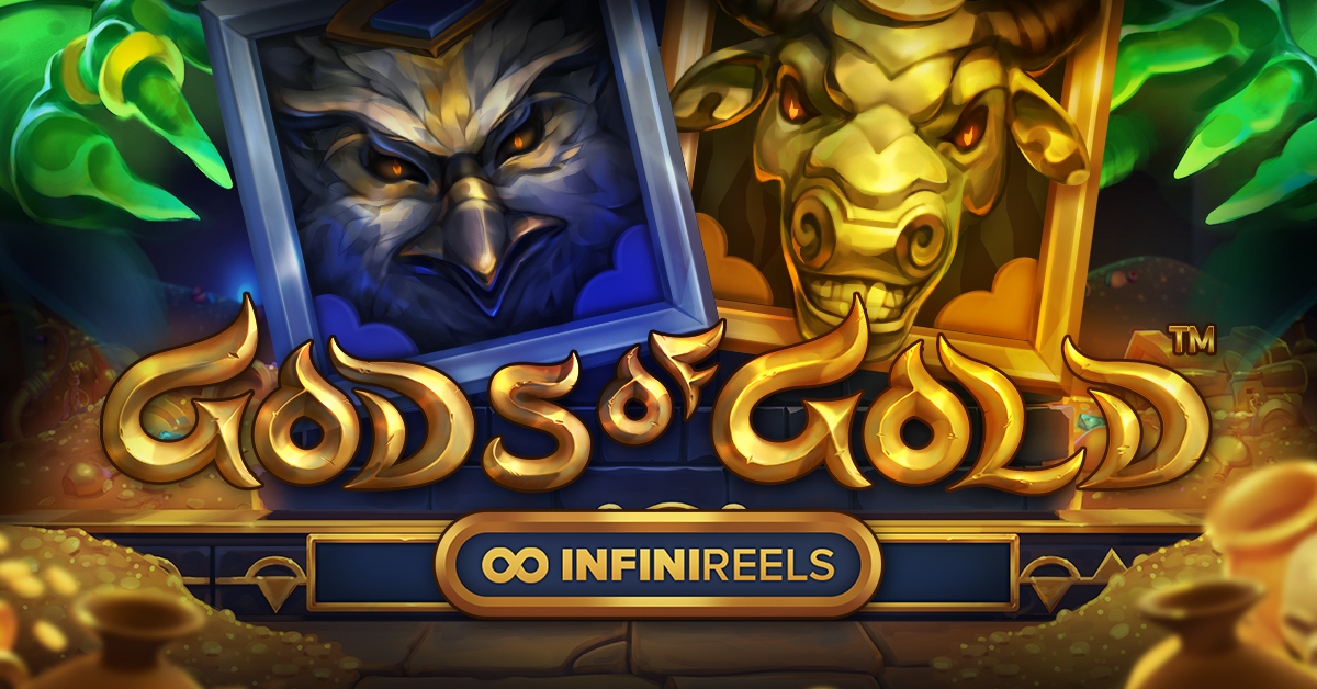 New, Gods of Gold INFINIREELS by NetEnt