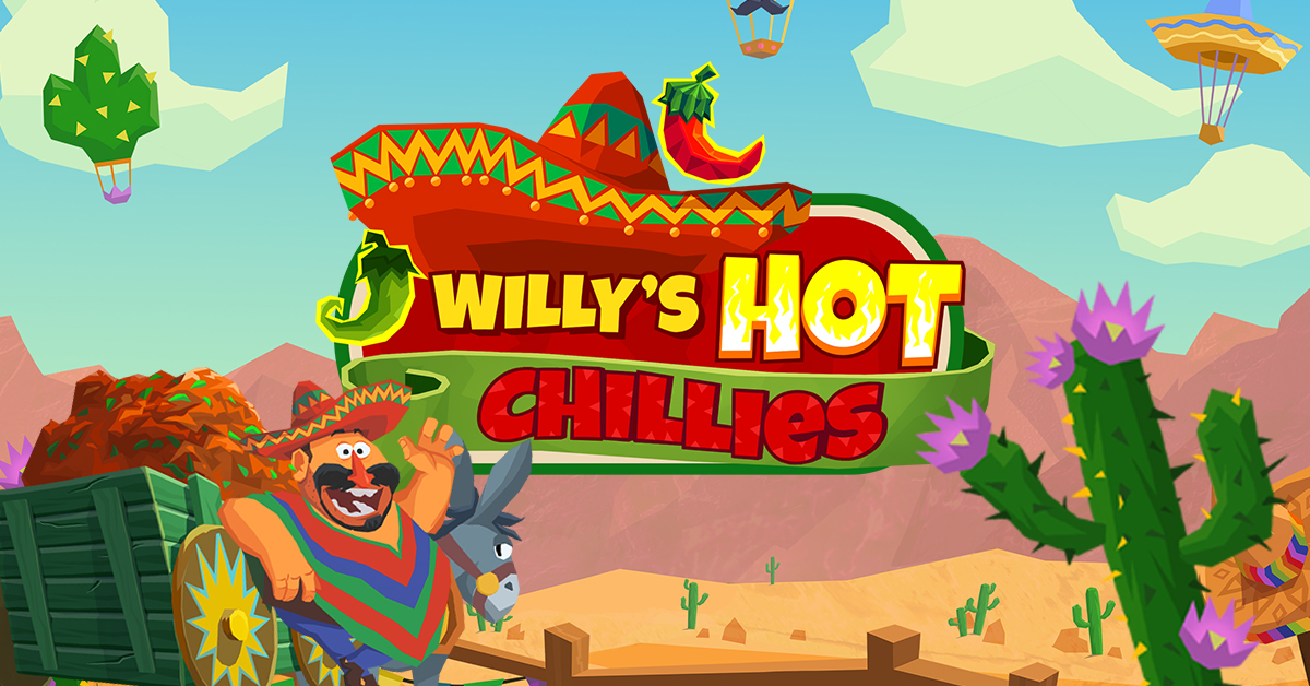 Willy's Hot Chillies, new NetEnt slot game now live
