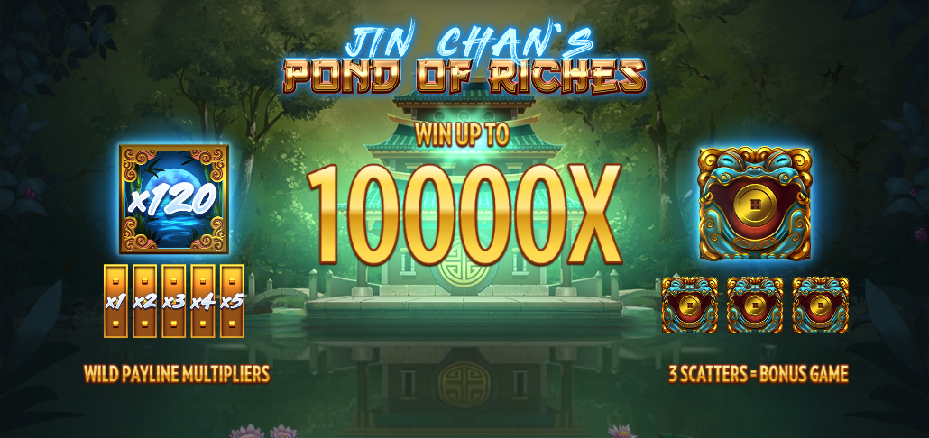 Jin Chan's Pond of Riches, new from Thunderkick