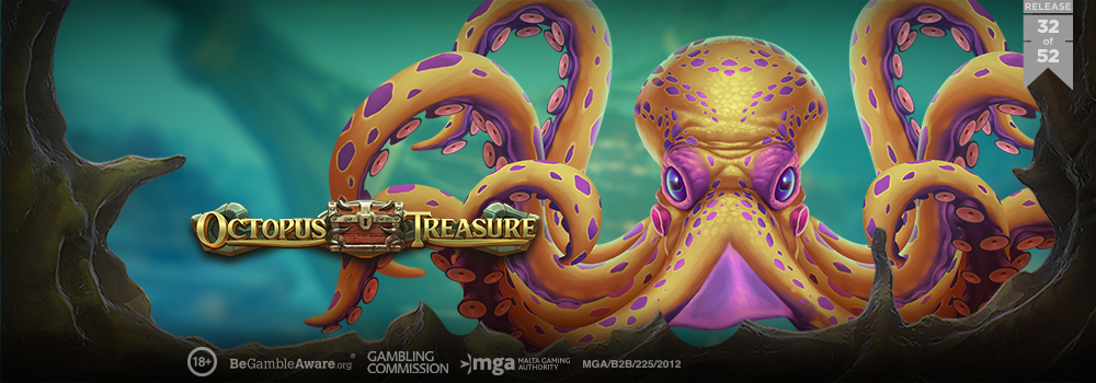 Octopus Treasure, new Play'n Go slot game
