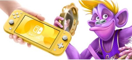 Win a Nintendo Switch Lite and Donkey Kong bundle