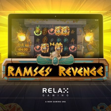 Cool new slot, Ramses' Revenge from Relax Gaming