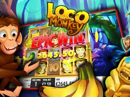 Loco the Monkey, new from Quickspin