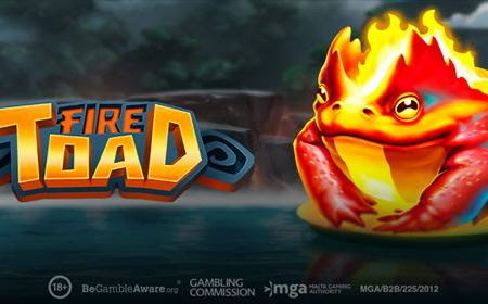 Fire Toad, new 1024 ways slot game