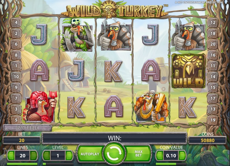 Wild Turkey slot game release