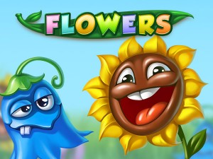 Flowers online slot game
