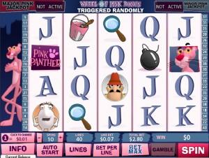 Pink Panther slot game