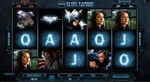 The Dark Knight Rises, slot game