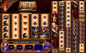 Spartacus, Gladiator of Rome, slot game