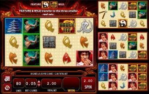 Bruce Lee, Dragon's Tale slot game