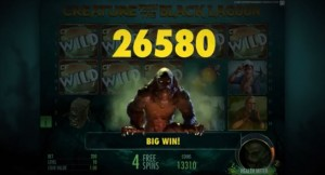 Creature from the Black Lagoon, NetEnt slot game