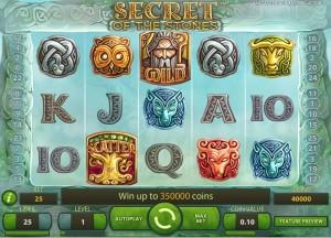 Secret of the Stones, NetEnt slot