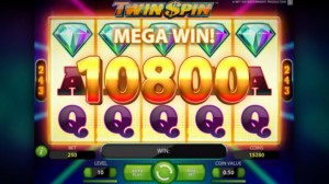 Twin Spin, NetEnt slot game