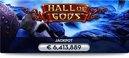 Player wins Hall of Gods jackpot