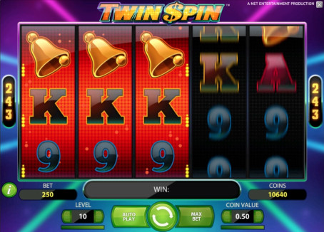 Twin Spin video slot now live
