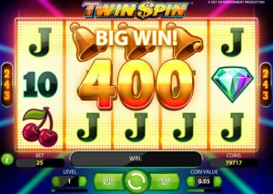 Twin Spin, slot game
