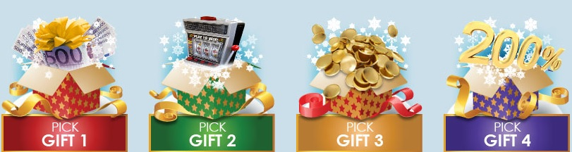 Pick your daily gift at Harry Casino
