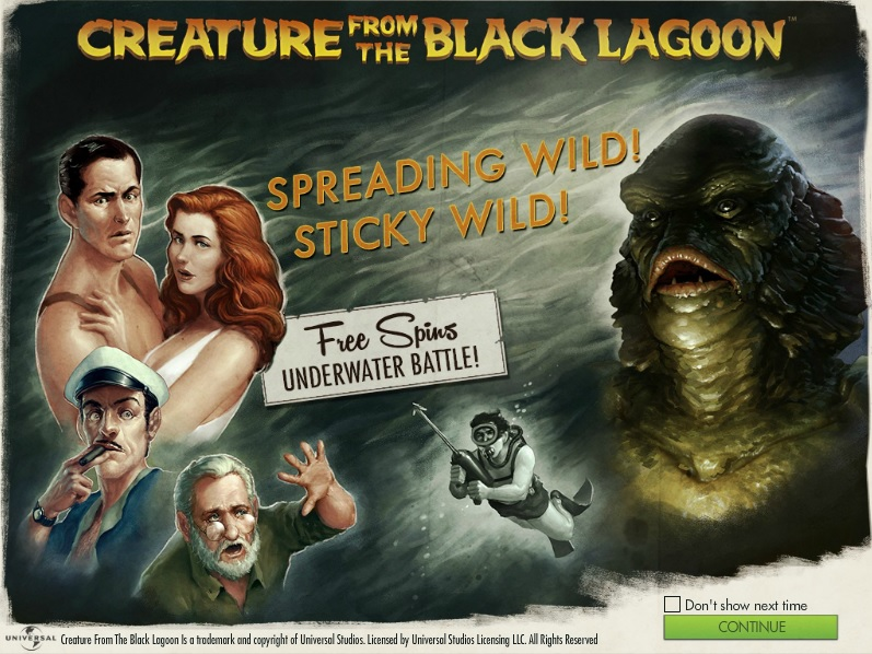 Creature from the Black Lagoon is now live