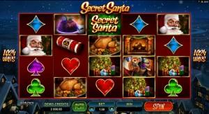 Secret Santa, online slot game