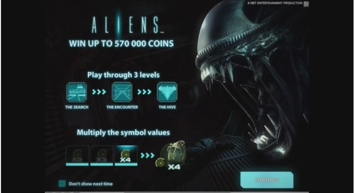 Gameplay video released for Aliens slot game