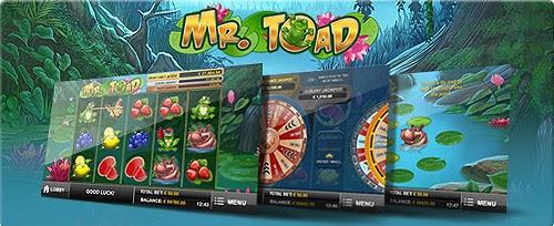 Mr Toad jackpot slot