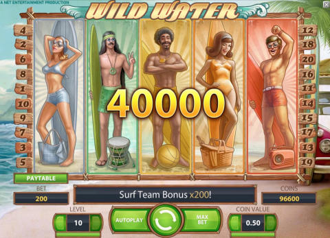 Wild Water, Surf Team Bonus