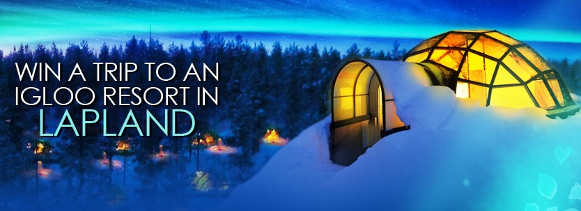 Win a trip to Lapland this March