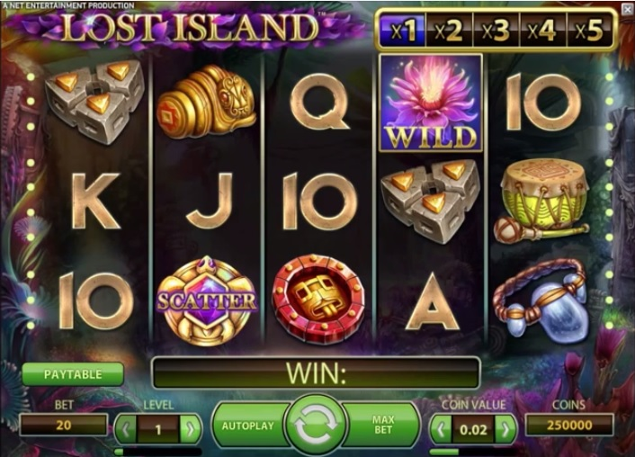 Lost Island, new NetEnt slot for July