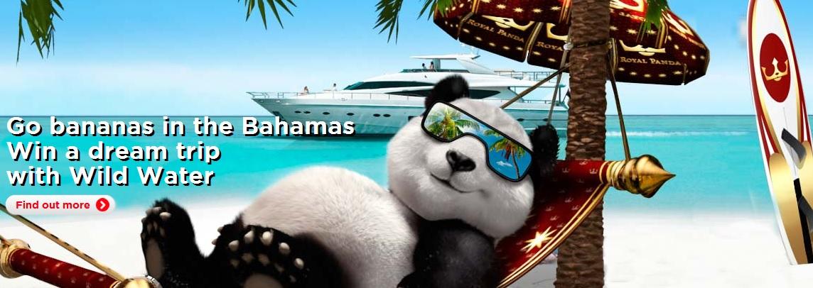 Royal Panda, go bananas in the Bahamas