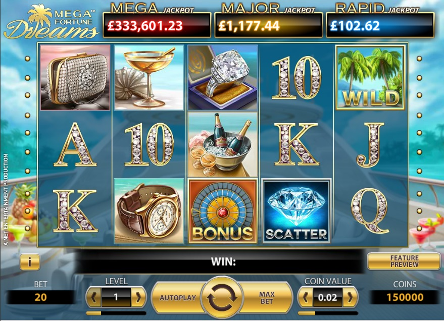 Mega Fortune Dreams, now at selected casinos