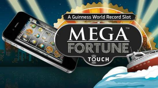 Big Mega Fortune Touch winner at Leo Vegas