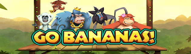 Limited time, play Go Bananas, NetEnt slot preview