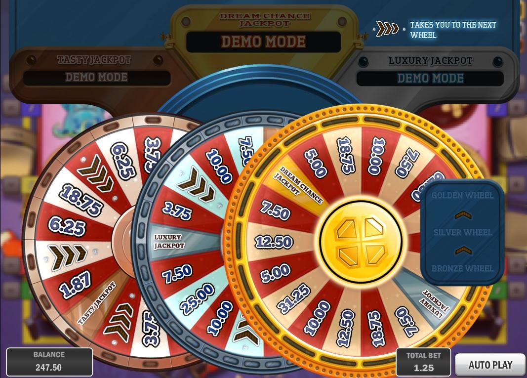 Online progressive slot games