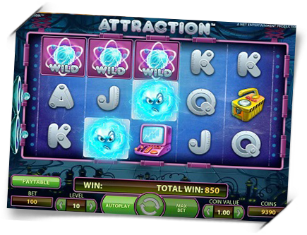 Royal Panda, 30 free spins on Attraction, August 21st only