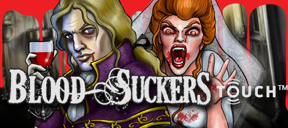 50 free spins on Blood Suckers Touch at Royal Panda