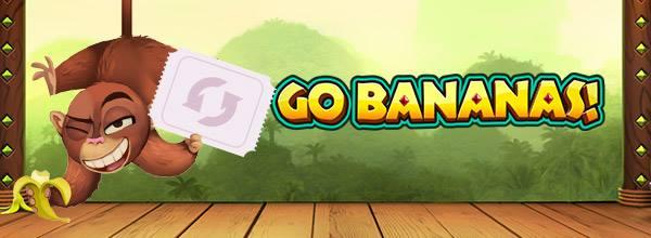120 daily Go Bananas! free spins at Casino Saga