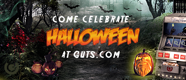 Halloween at Guts, with daily free spins