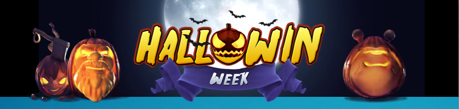 Hallowin week at LuckyDino, daily free spins